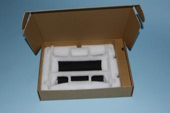 Prototyp der flexibel anpassbaren Service- und Reparaturverpackung